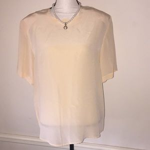 Lovely Chiffon Top by Christie and Jill